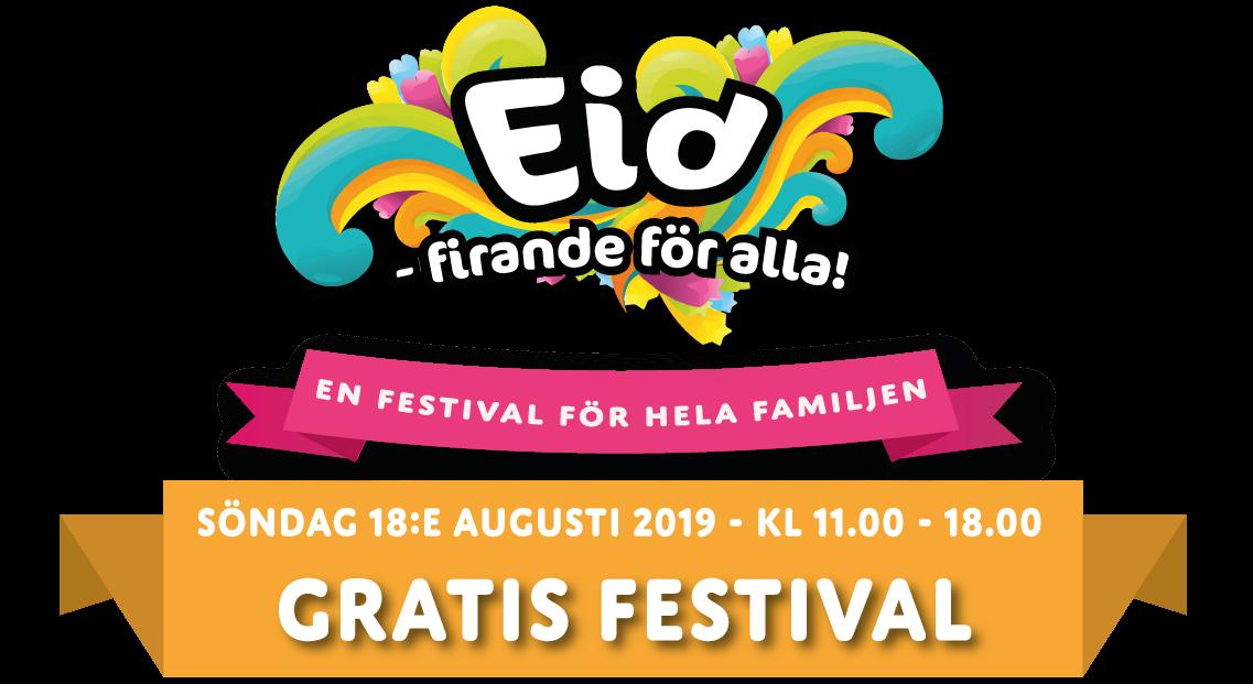 Eid firande för Alla! Logo